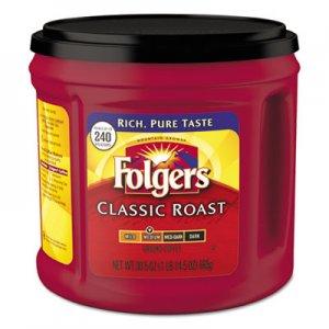 Folgers Coffee, Classic Roast, Ground, 30.5 oz Canister FOL20421EA 2550020421