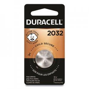 Duracell Button Cell Lithium Electronics Battery, 2032, 3V, 6/Box DURDL2032BPK DL2032BPK