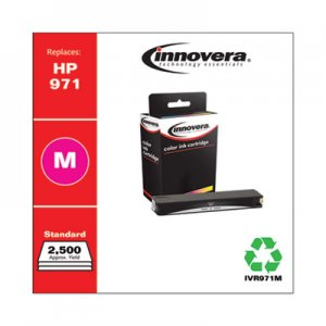 Innovera Remanufactured CN623AM (971) Ink, 2500 Page-Yield, Magenta IVR971M