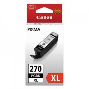 Canon 0319C001 (PGI-270XL) High-Yield Ink, Pigment Black CNM0319C001 0319C001