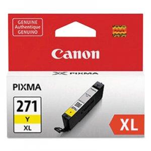 Canon 0339C001 (CLI-271XL) High-Yield Ink, Yellow CNM0339C001 0339C001