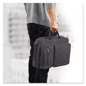 "Solo Urban Hybrid Briefcase, 15.6"", 16 3/4"" x 4"" x 12"", Gray USLUBN31010 UBN310-4"