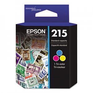 Epson T215530 (215) DURABrite Ultra Ink, Tri-Color EPST215530S T215530-S