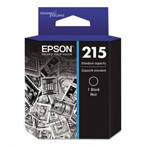 Epson T215120 (215) DURABrite Ultra Ink, Black EPST215120 T215120