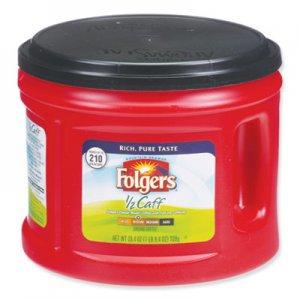 Folgers Coffee, Half Caff, 25.4 oz Canister FOL20527 2550020527
