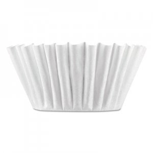 BUNN Coffee Filters, 8/10-Cup Size, 100/Pack, 12 Packs/Carton BUNBCF100BCT 20104.0001