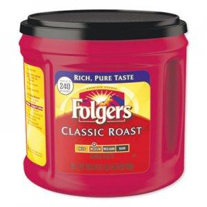Folgers Coffee, Classic Roast, 30 1/2 oz Canister, 6/Carton, 294/Pallet FOL20421PL 2550020421PL