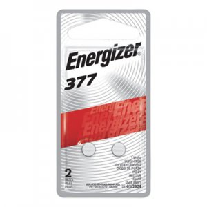 Energizer Watch/Electronic/Specialty Battery, 377, 1.5V, 2/Pack EVE377BPZ2 377BPZ-2