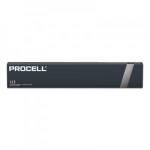 Duracell Procell Lithium Batteries, CR123, For Camera, 3V, 12/Box DURPL123BDK PL123BDK