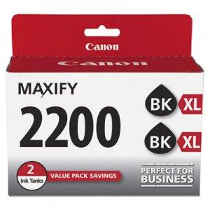 Canon High-Yield Ink, Black, 2/PK CNM9255B006 9255B006