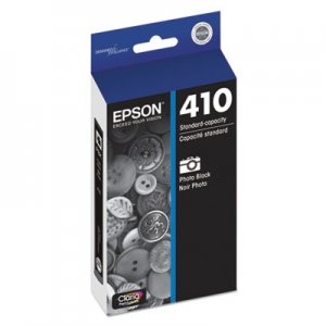 Epson T410120 (410) Ink, Photo Black EPST410120 T410120