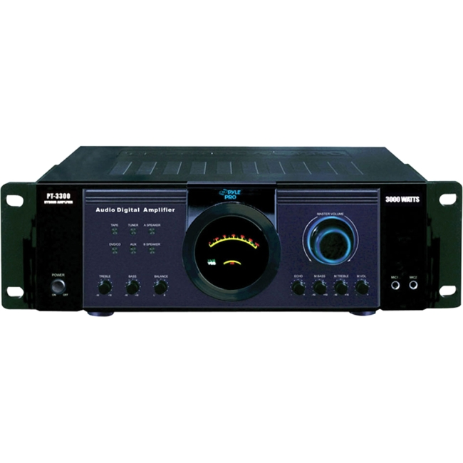PyleHome 3000 Watt Power Amplifier PT3300