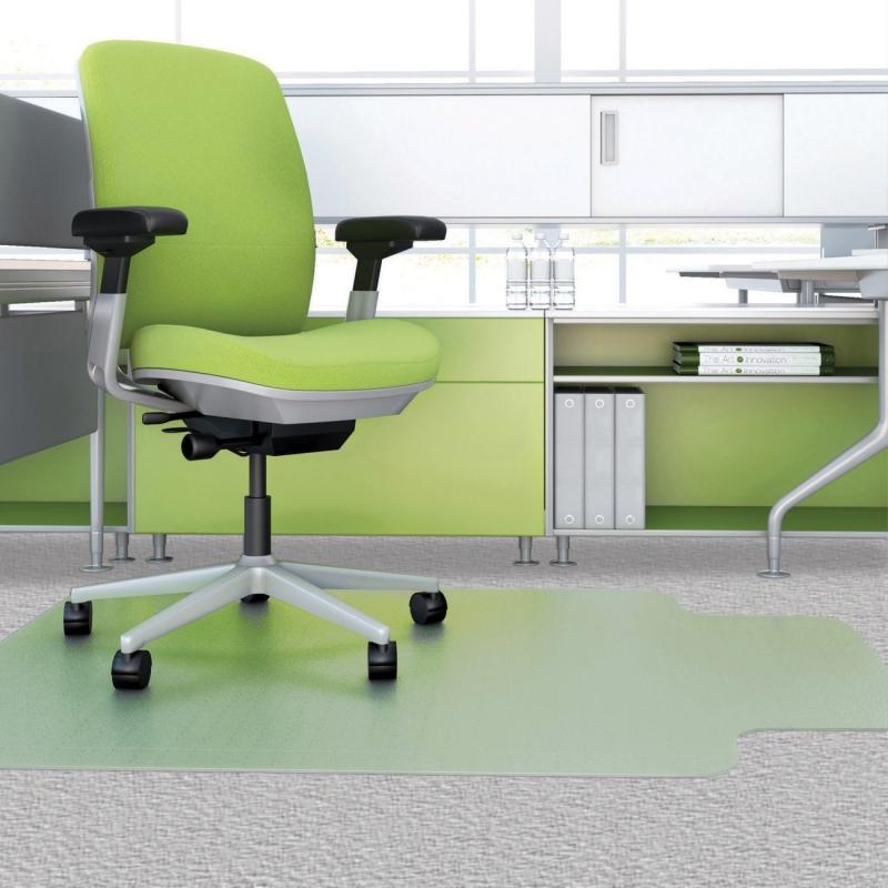 Deflect-o Low-pile EnvironMat Recycled Chairmat CM1K432FPET DEFCM1K432FPET