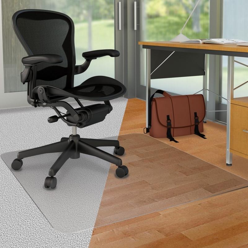 Deflect-o DuoMat Carpet/Hard Floor Chairmat CM23442FDUO DEFCM23442FDUO
