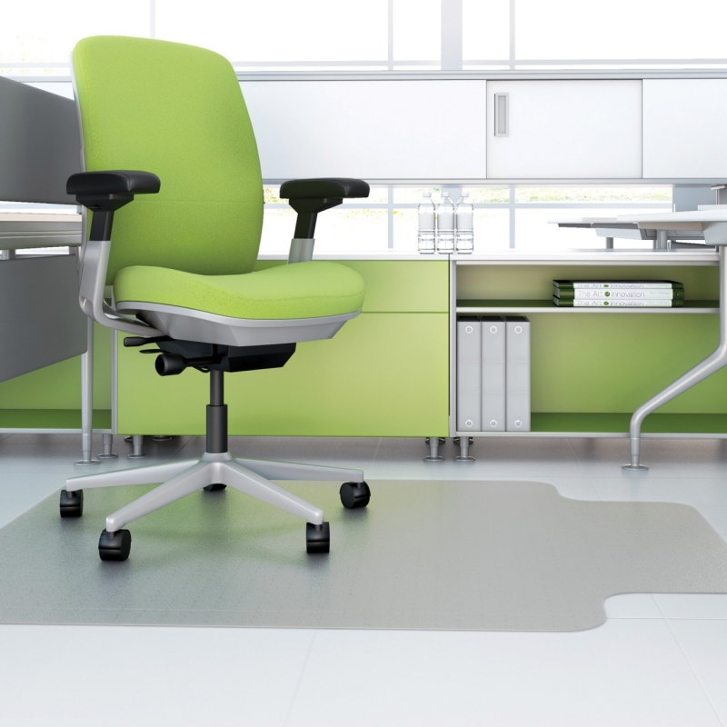Deflect-o Hard Floor EnvironMat Recycled Chairmat CM2G432FPET DEFCM2G432FPET