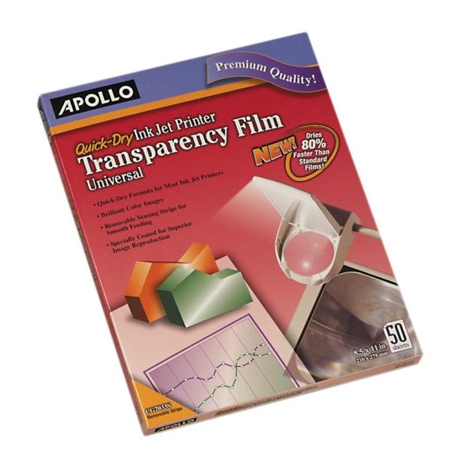 Apollo Quick Dry Universal Ink Jet Printer Film VCG7033S APOCG7033S