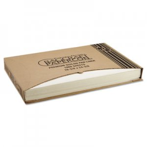 Bagcraft Grease-Proof Quilon Pan Liners, 16 3/8 x 24 3/8, White, 1000 Sheets/Carton BGC030001 P030001