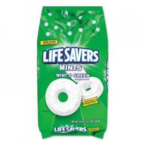 LifeSavers Hard Candy Mints, Wint-O-Green, 50oz Bag LFS21524 WMW21524