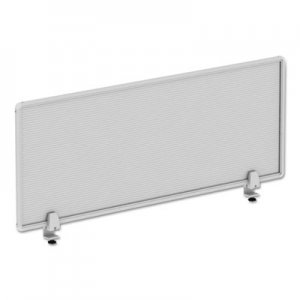 Alera Polycarbonate Privacy Panel, 47w x 18h, Silver ALEPP4718