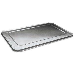 Boardwalk Full Size Steam Table Pan Lid For Deep Pans, Aluminum, 50/Case BWKLIDSTEAMFL