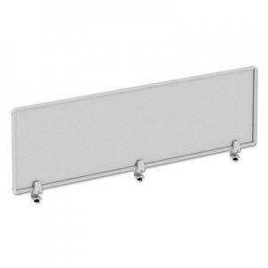 Alera Polycarbonate Privacy Panel, 65w x 18h, Silver ALEPP6518