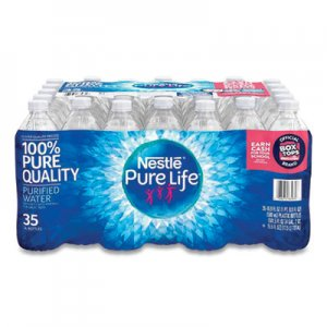 Nestle Waters Pure Life Purified Water, 16.9 oz Bottle, 35 Bottles/Carton NLE827179 827179