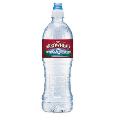 Arrowhead Natural Spring Water, 23.6 oz Bottle, 24 Bottles/Carton NLE827165 827165