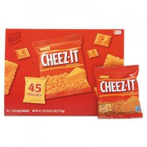 Sunshine Cheez-it Crackers, Original, 1.5 oz Pack, 45 Packs/Carton KEB827553 2410010201