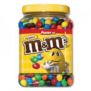 M & M's Milk Chocolate Coated Candy w/Peanut Center, 62 oz MNM1207596 1207596