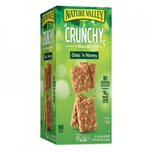 Nature Valley Granola Bars, Oats & Honey, 1.5 oz Bar, 49/Carton GNM827622 827622