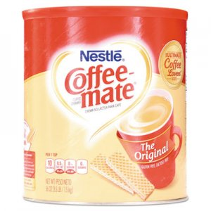 Coffee mate Non-Dairy Powdered Creamer, Original, 56 oz Canister NES824802 824802