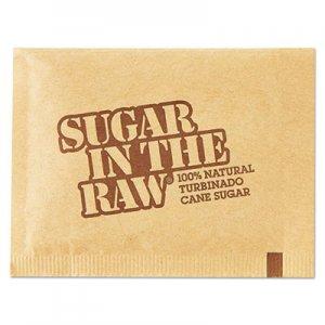 Sugar in the Raw Sugar Packets, Raw Sugar, 0.18 oz Packets, 500 per Carton SGR827749 827749