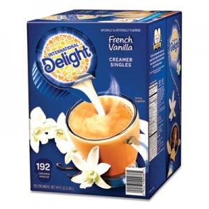 International Delight Flavored Liquid Non-Dairy Coffee Creamer, French Vanilla, 0.4375 oz Cups, 192/CT ITD827981 827981
