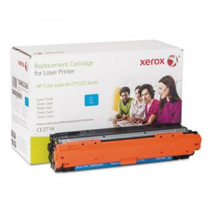 Xerox (CE271A) Compatible Remanufactured Toner, 15000 Page-Yield, Cyan XER106R02266 106R02266