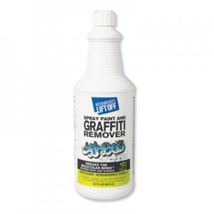 Motsenbocker's Lift-Off 4 Spray Paint Graffiti Remover, 32oz, Bottle, 6/Carton MOT41103 MTS 41103