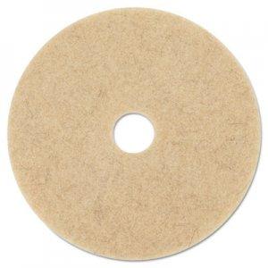 "3M Ultra High-Speed Natural Blend Floor Burnishing Pads 3500, 27"" Dia., Tan, 5/CT MMM20317 3500"