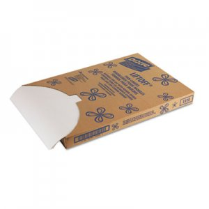 Dixie Greaseproof Liftoff Pan Liners, 16 3/8 x 24 3/8, White, 1000 Sheets/Carton DXELO10 LO10