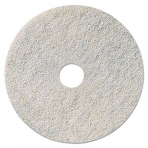 "3M Niagara Natural White Burnishing Pad, 27"" Diameter, 5/Carton MMM35085 3300N"