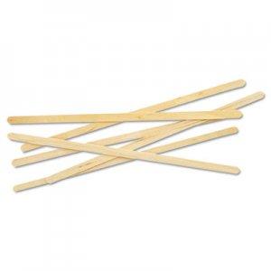 """Eco-Products Renewable Wooden Stir Sticks - 7"""", 1000/PK, 10 PK/CT ECONTSTC10CCT NT-ST-C10C"""