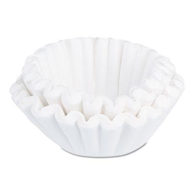 BUNN Flat Bottom Funnel Shaped Filters, for U3 Brewer, 250/PK BUNU3NB250CS 20112.0000