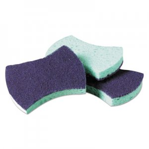 Scotch-Brite PROFESSIONAL Power Sponge #3000, 2 4/5 x 4 1/2, Blue/Teal, 20/Carton MMM3000CT 3000