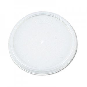 Dart Plastic Lids, Fits 12 - 24 oz Foam Cups, Translucent, 100/Pack, 10 Packs/Carton DCC16JL 16JL