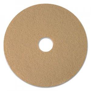 "Boardwalk Tan Burnishing Floor Pads, 20"" Diameter, 5/Carton BWK4020ULT"