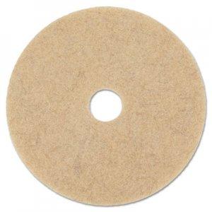 "Boardwalk Natural Hog Hair Burnishing Floor Pads, 20"" Diameter, 5/Carton BWK4020NHE"