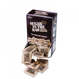 Sugar in the Raw Unrefined Sugar Made From Sugar Cane, 200 Packets/Box, 2 Boxes/Carton SMU00319CT