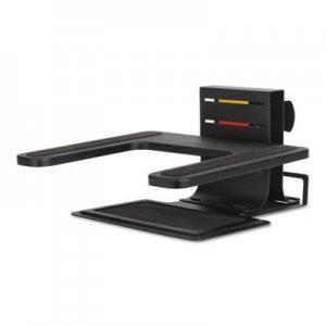 "Kensington Adjustable Laptop Stand, 10"" x 12 1/2"" x 3"" - 7""h, Black KMW60726 K60726WW"