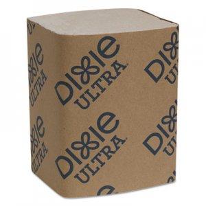 "Dixie Interfold Napkin Refills 2-Ply, 6 1/2"" x 9 7/8"", Brown, 6000/Carton GPC32019 32019"