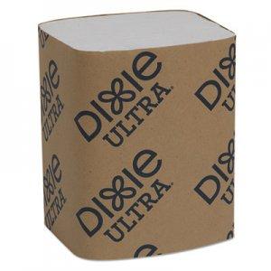 """Dixie Interfold Napkin Refills Two-Ply, 6 1/2"""" x 9 7/8"""", White, 6000/Carton GPC32006 32006"""