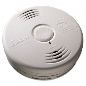 "Kidde Bedroom Smoke Alarm w/Voice Alarm, Lithium Battery, 5.22""Dia x 1.6""Depth KID21010067 21010167"