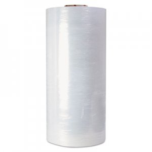 "Genpak High-Performance Pre-Stretched Handwrap Film, 18"" x 1500ft, 32-Ga, Clear, 4/CT UNV64721"